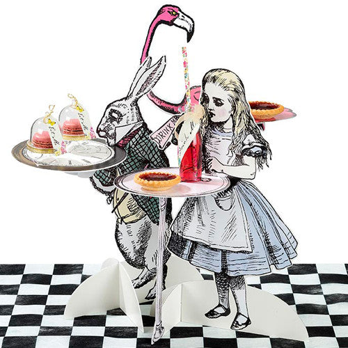 Alice Tea Party Treat Stands