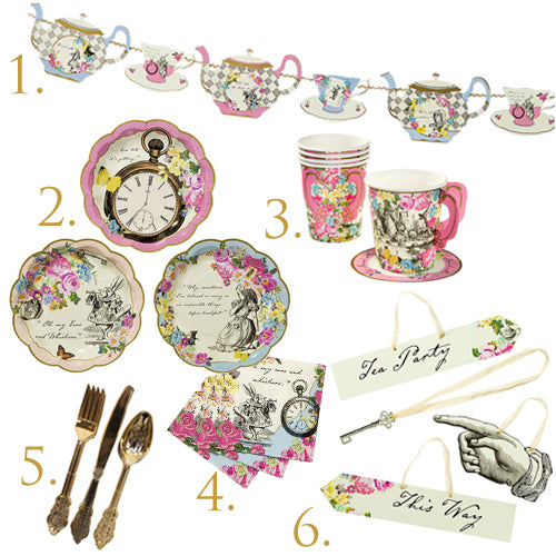 Alice Tea Party in a Box for 12