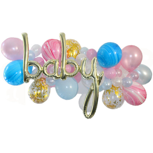Oh Baby! Balloon Garland