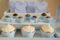 Mini Teacups -  Baby Blue (12 per PacK)