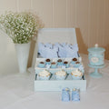 Lovely baby Booties - Baby Blue (10 per Pack)