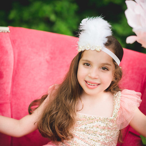 Boho Chic Feather Headband