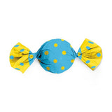 Candy Wrapping Paper (6 X 6.5 inches) - Yellow & Blue