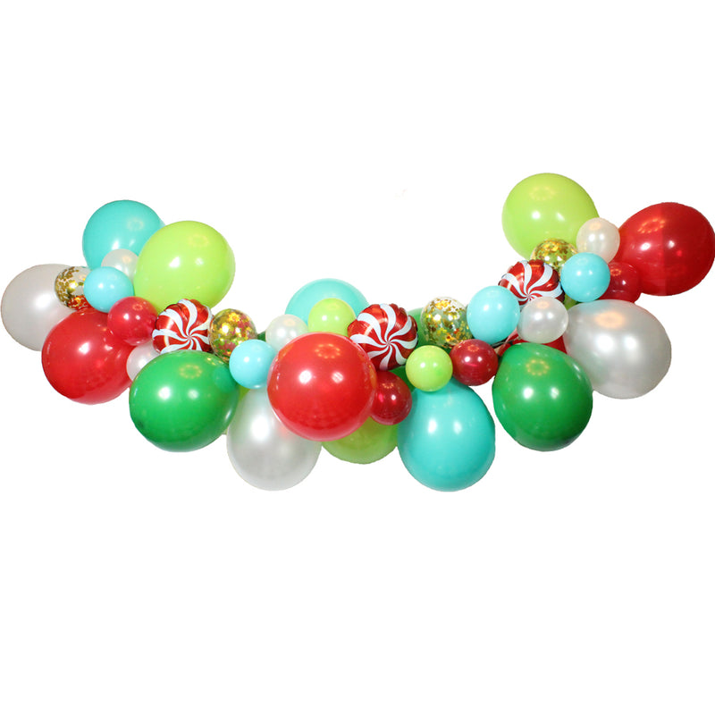 Christmas Balloon Garland Kit, Nutcracker Balloon Garland Kit