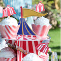 Cupcake Toppers - Circus (Set of 12)