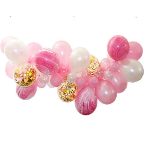 Cotton Candy Balloon Garland