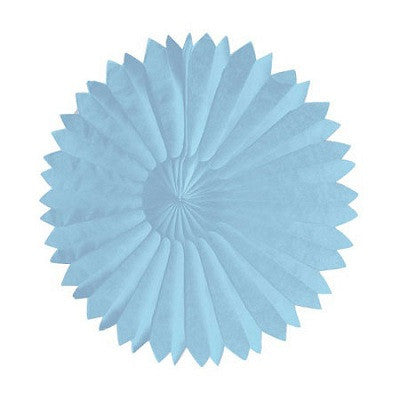 Tissue Fans Blue Princess Party Sale