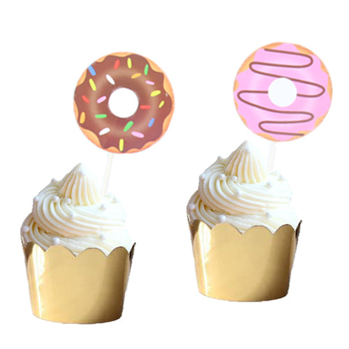 Donut Cupcake Toppers