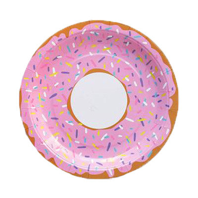 Donut Party Plates