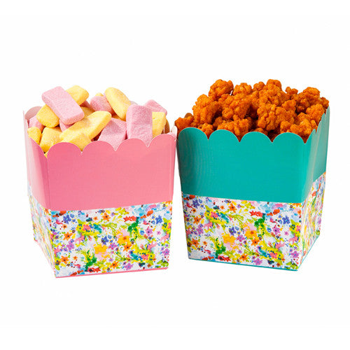 Treat Holders - Floral Fiesta (6 per Pack)