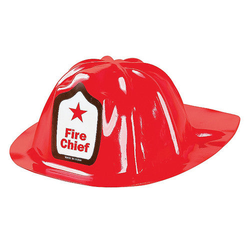 Red Firefighter Hat for firefighter birthday party