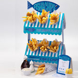 Fish and Chip Stand - Fish and Chip Party Stand