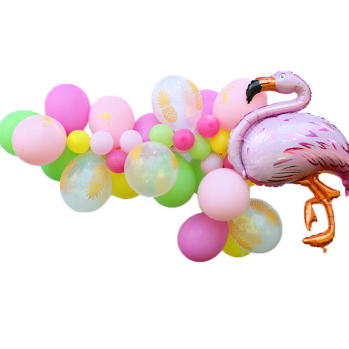 Flamingo Balloon Garland Kit
