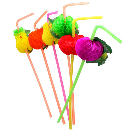Tutti Frutti Straws featuring fruit straws such as apples, pears and green apples