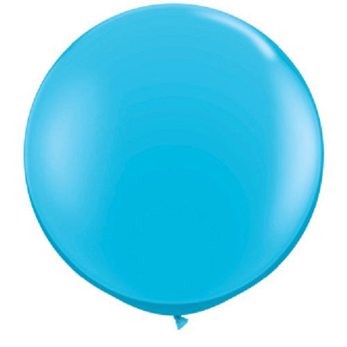 Giant Round Balloons Blue Carnival Party