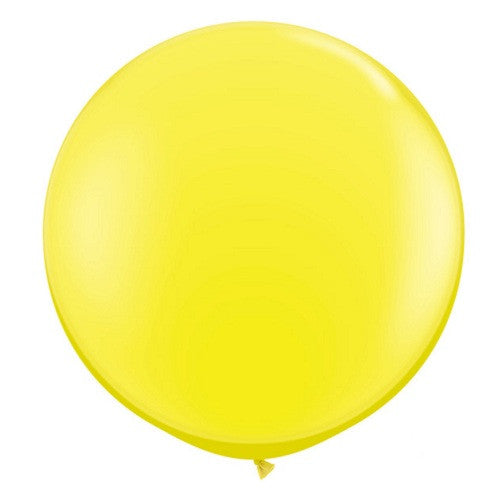 Giant Round Balloons Yellow Ninja Party Carnival Party Donut Party Ice Cream Party