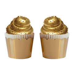 Gold Crown Cupcake Cups