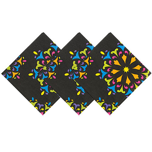 Halloween Sugar Skulls napkins