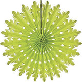 Honeycomb Fan (14 inches) - Green