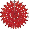 Honeycomb paper Tissue Fans Red 4th of July Party Nutcracker Party Christmas Party