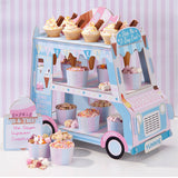 Ice Cream Truck Stand - Ice Cream Truck stand for display ice cream cups in Birthday Parties