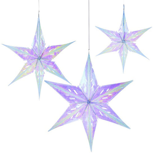 Iridescent Star Decoration