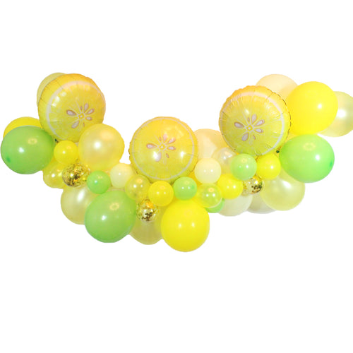 Lemon Balloon Garland Kit