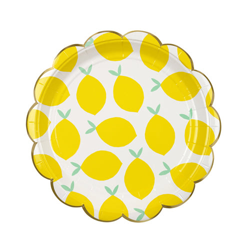 LEMON PARTY PLATES - SMALL