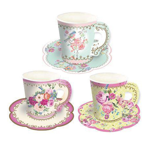 Lovely Tea Party Cups