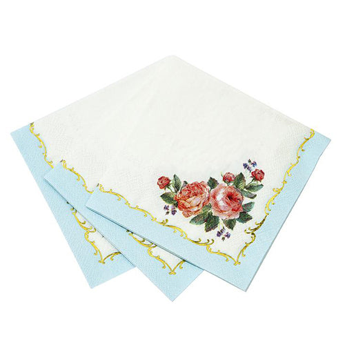 Lovely Tea Party Napkins perfect for a tea party birthday party