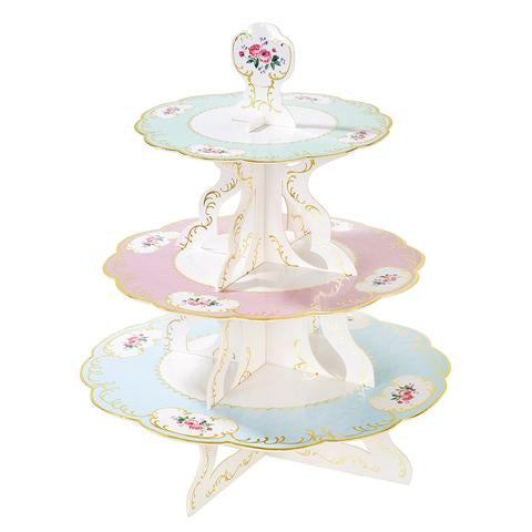 Lovely Tea Party Cupcake Stand