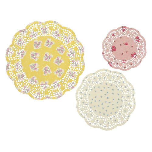 Lovely Tea Party Doilies (24 per Pack)