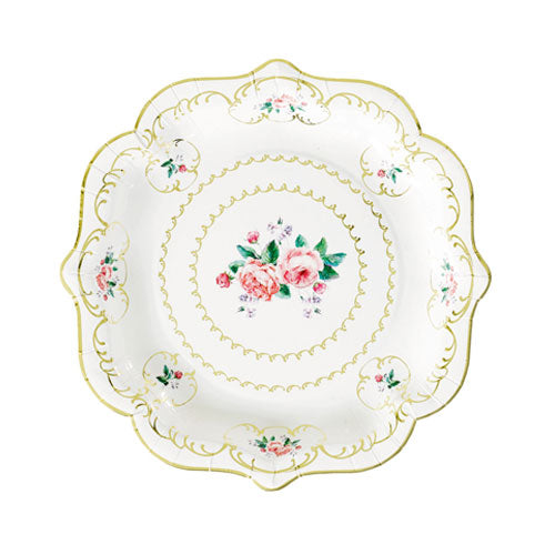 Lovely Tea Party Plates perfect for a tea party birthday party