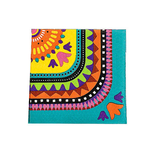 Mexican Fiesta Napkins ideal for a Mexican fiesta party