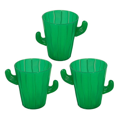 Mini Cactus Shot Glasses (12 per Pack)