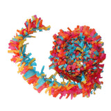 Tissue Festooning Garland Pink Halloween Day of the Dead Party Donut Party
