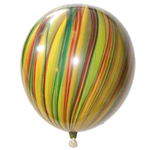 Marble Balloons Multicolor Tutti Frutti Birthday Party
