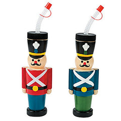 Nutcracker Party Cups are perfect for a Nutcracker or any Christmas birthday party
