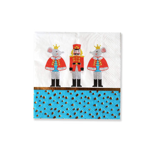 NUTCRACKER PARTY NAPKINS