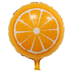 Orange Fruit Foil Balloon