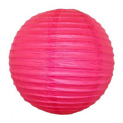 Paper Lanterns Fuchsia Hawaiian Luau Party Halloween Day of the Dead Party
