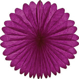 Paper Daisy  Fans (19 inches) - Purple