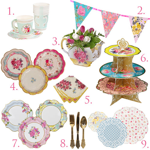 Tea Party in a Box DELUXE for 12