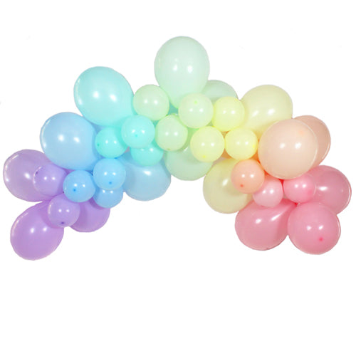 Pastel Rainbow Balloon Garland Kit