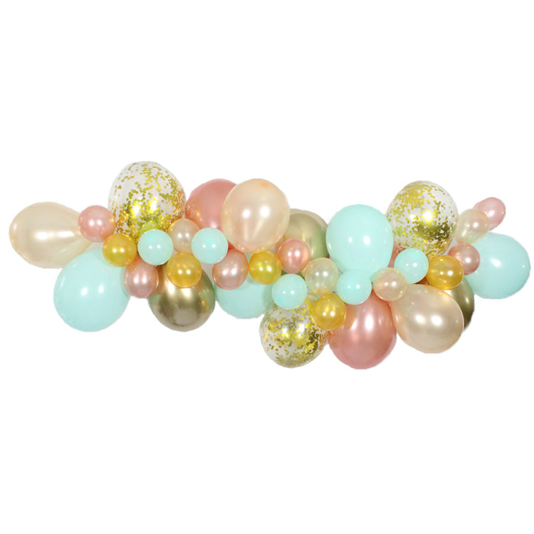 Peaches & Mint Balloon Garland Kit