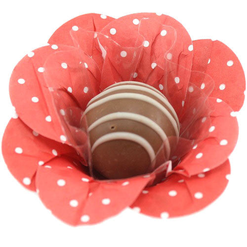 Petite Blossom Cups - Paper Red