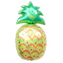 Giant Pineapple Foil Balloon ideal for a tropical or fruit birthday party.