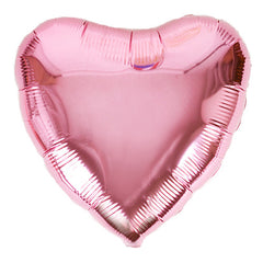 Heart Foil Balloons Pink Be my Valentine Party Baby Pink, Princess Party