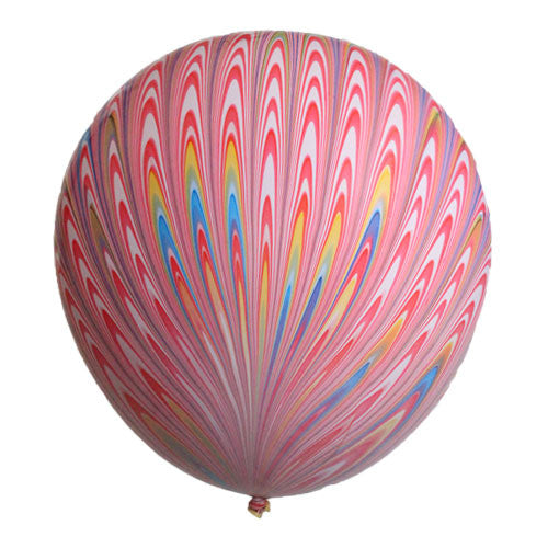 Peacock Balloons Pink