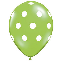 Polka Dot Balloons Green Easter Party Halloween Party - Wicked Cute Christmas Party Halloween Party Essentials